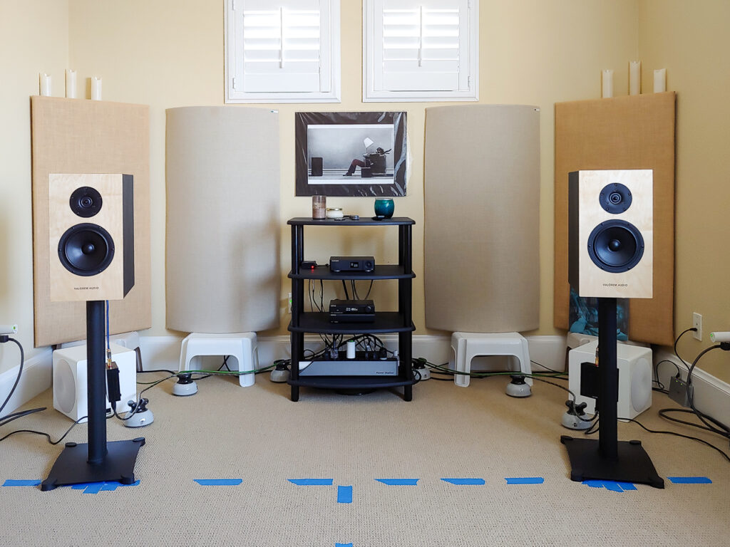Third iteration of speaker placement